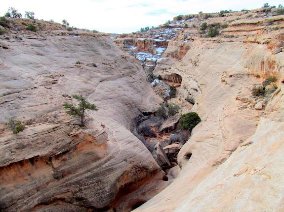 Deepening canyon