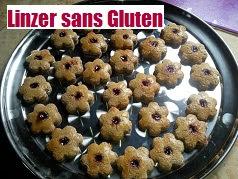 recette des Linzer petits biscuits à la confiture sans Gluten