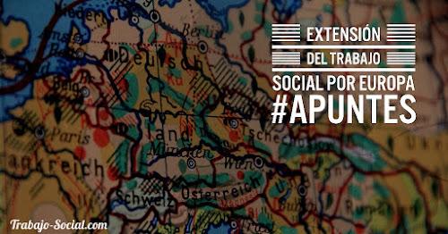 Extensión del trabajo social en Europa