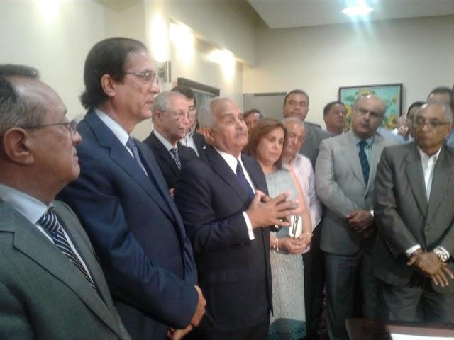 Hoy estuvimos en el acto de  toma de posesión y traspaso de cambio de titular del importante Ministerio de Agricultura.    Por Pedro Musa.