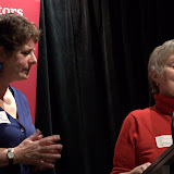 Co-Presidents Liz Steele and Rosemary Noble