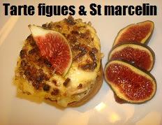 recette des petites tartes aux figues et saint Marcelin