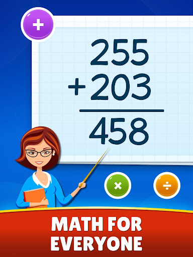 Math Games - Addition, Subtraction, Multiplication apktram screenshots 9
