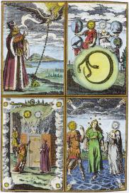 From Bernard Trevisanus Chymische Schrifften 1747, Alchemical And Hermetic Emblems 2