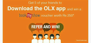 Olx Refer and Earn