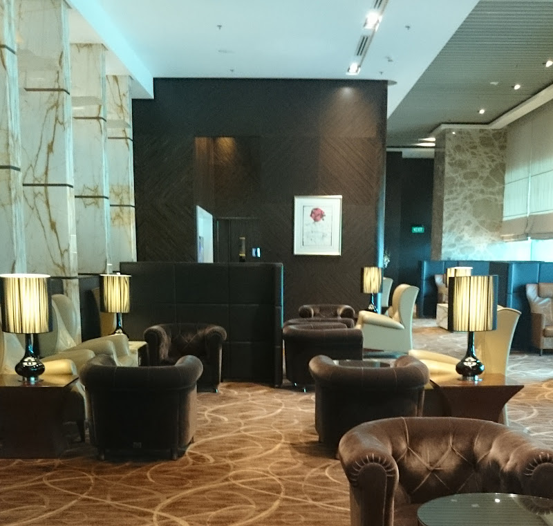 SIN%252520PVG 19 - REVIEW - Singapore Airlines : The Private Room First Class Lounge [Breakfast Service], SIN T3