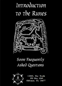 Cover of The Troth's Book Introduction to the Runes Some Frequently Asked Questions