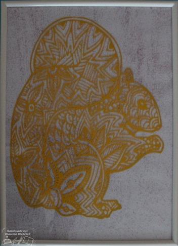 Schilderij Eekhoorn 1