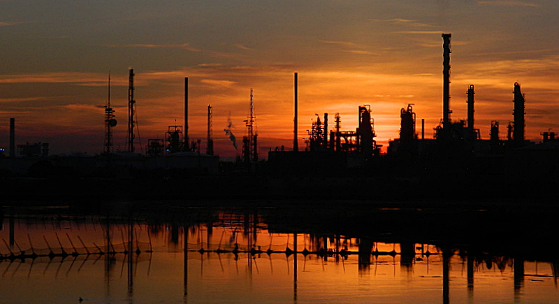 Chimica al tramonto di lucaldera