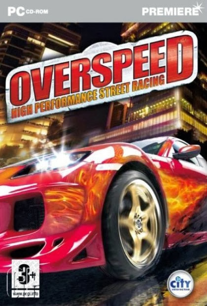 Cover Of Overspeed: High Performance Street Racing (2012) Full Latest Version PC Game Free Download Resumable Links at Alldownloads4u.Com