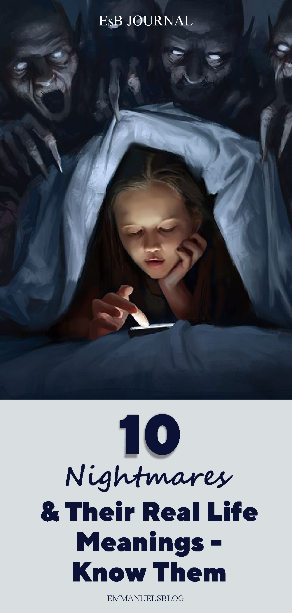 10 Nightmares And Their Real Life Meanings - Know Them