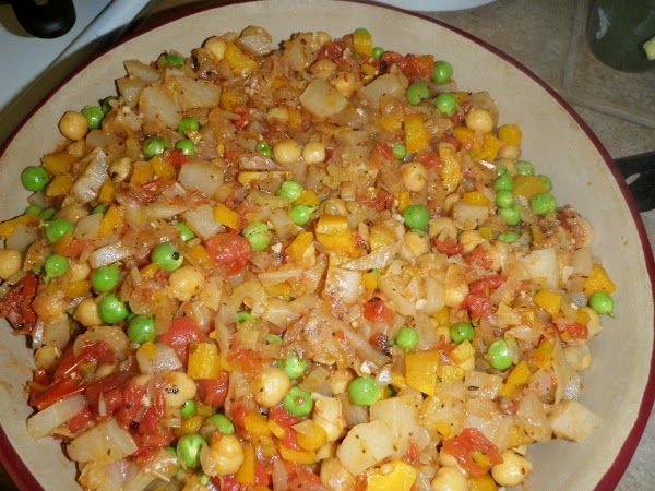 Cook this down on low heat for 20 minutes. While heating the oven to...