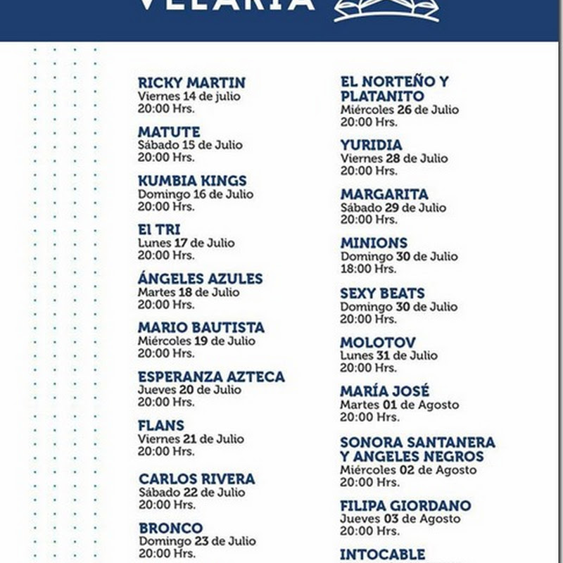 Feria Durango 2017: Palenque Velaria y Boletos