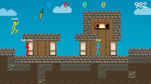 Stickman vs Multicraft: Survival Craft Pocket modavailable screenshots 4