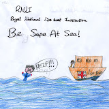 Sea safety poster - Hannah