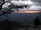Bob Cheek at sunrise at Mirador