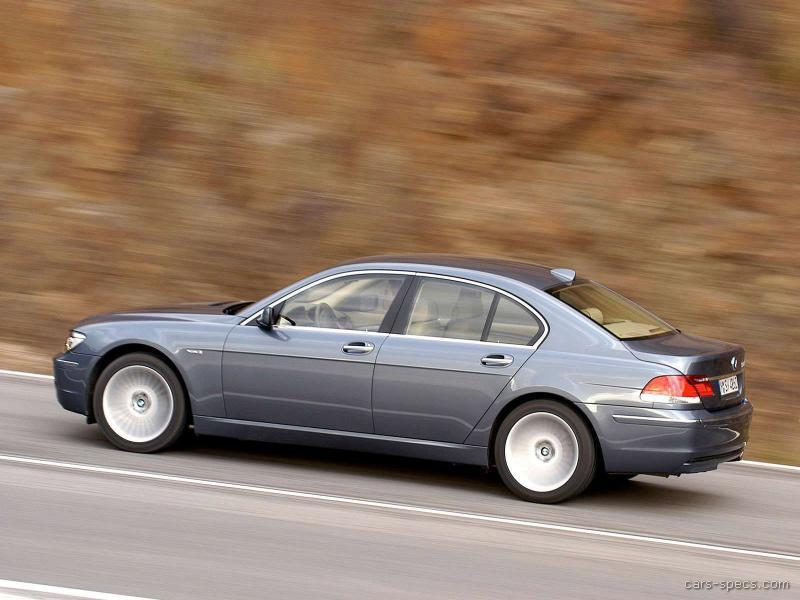 2007 bmw 7 series sedan specifications pictures prices. Black Bedroom Furniture Sets. Home Design Ideas