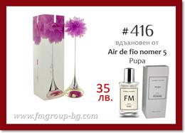 Парфюм FM 416 PURE - PUPA - Air de fio nomer 5