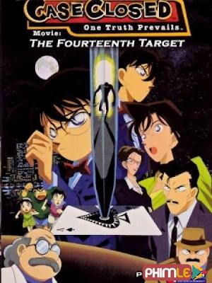 Phim Mục Tiêu Thứ 14 - Detective Conan: The Fourteenth Target (1998)