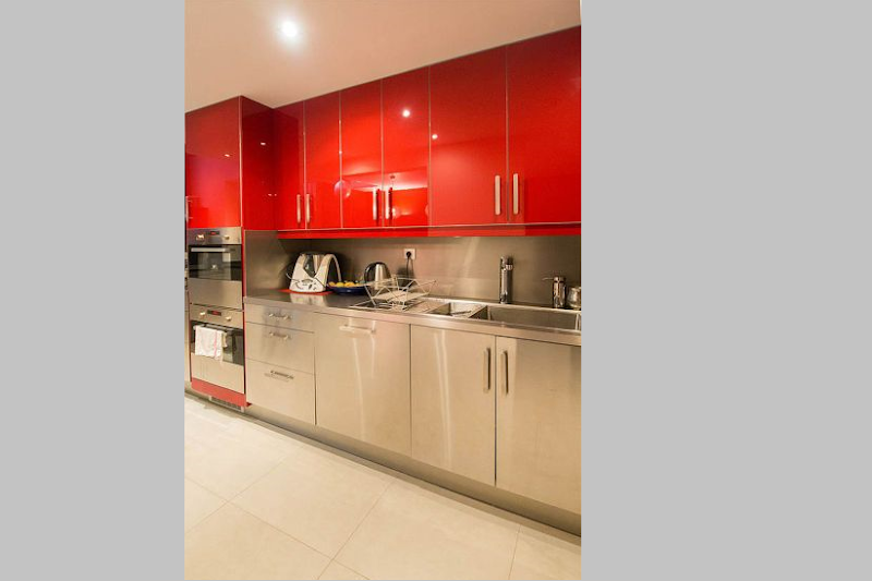 Luxury kitchen at 5 bedroom Triplex Apartment in Ave Foch