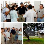 Recepción de obras de Centro Cívico por la Paz para la niñez y juventud Santa Cruz