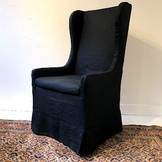 Restoration Hardware Wing-Back Chair