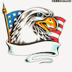 usa flag - tattoo designs