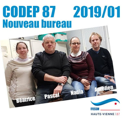 CODEP87 - Nadia Migout - Béatrice Nevoit - Pascal Delahaye - Aurélien Lazeiras