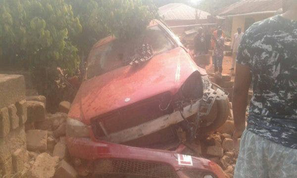 6 Children In Edo Crushed To Death By A Car with Learner's Tag