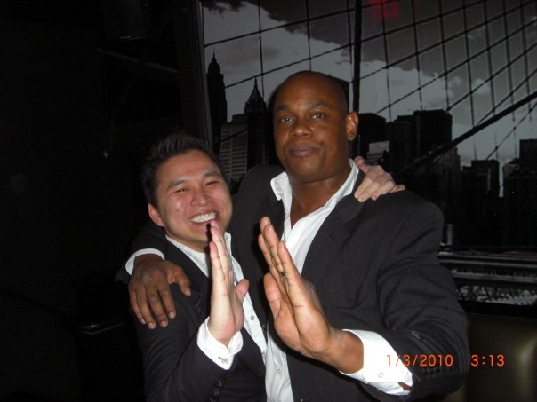 Asian Playboy And Bokeem Woodbine Busting A Move, Asian Playboy