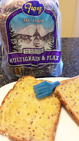 Franz Mt Hood Multigrain and Flax bread makes for great sandwiches, especially grilled cheese!