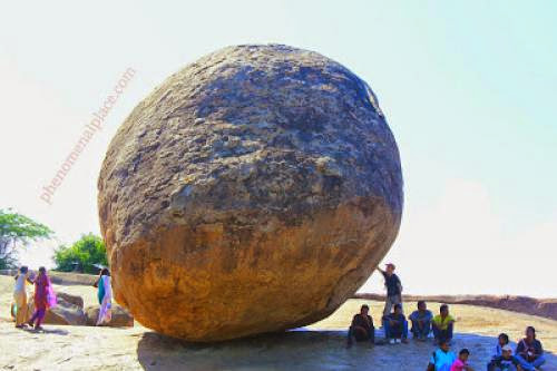 Krishna Butter Ball Ancient Aliens In India