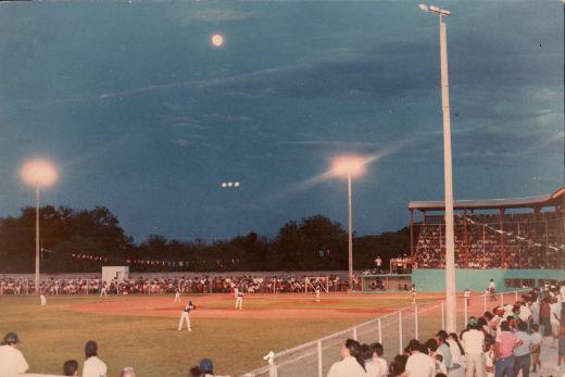 Parque Daniel Guadiana en el campeonato nacional de ligas pequeñas división menor de 1986