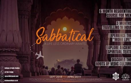 Sabbatical Course 2018 thumbnail
