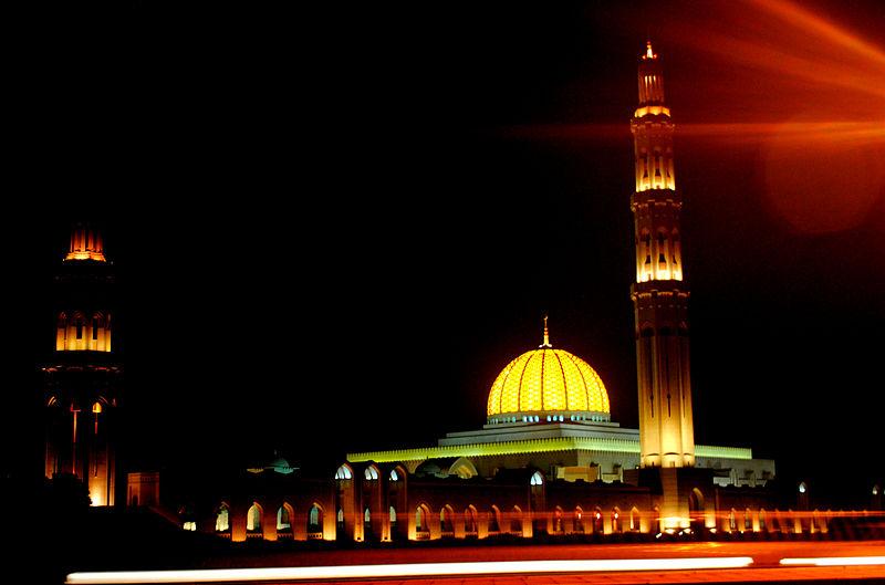 Oman - Muscat, Sultan Qaboos bin Said Grand-Mosque
