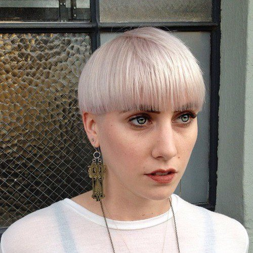 Top Bowl Cut Female - Bowl Cut Hairstyle 2018/2019 1