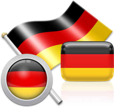 German flag icons pictures collection