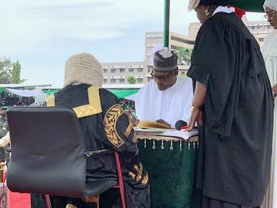 Mixed Feelings As Nigeria's President Mohammedu Buhari Sworn In For The Second Term.