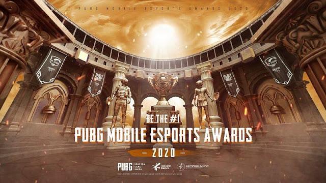 PUBG Mobile Esports Ödülleri 2020 açıklandı!