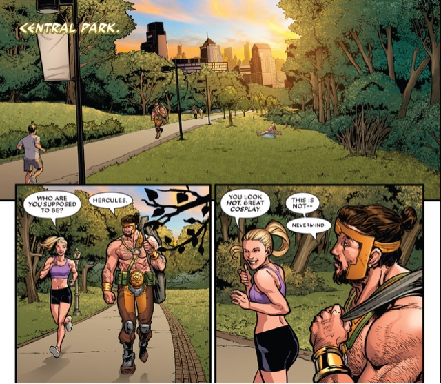 Hercules marvel comics bisexual