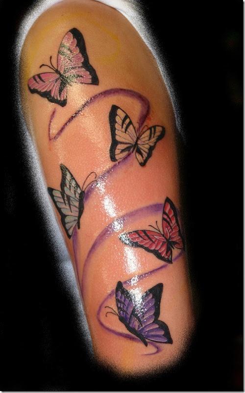chaud papillon conceptions de tatouage pour les femmes id es et photos de tatouages. Black Bedroom Furniture Sets. Home Design Ideas