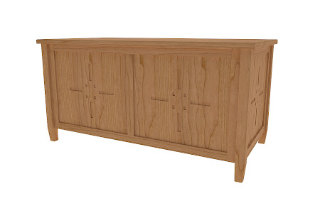 Florence Cedar Chest in Natural Cherry