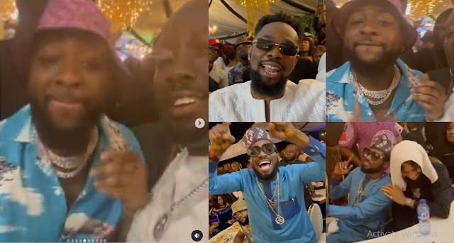How Davido, Patoranking, DBanj & Others Enjoyed Themselves At Obi Cubana's Mother's Funeral [Video]