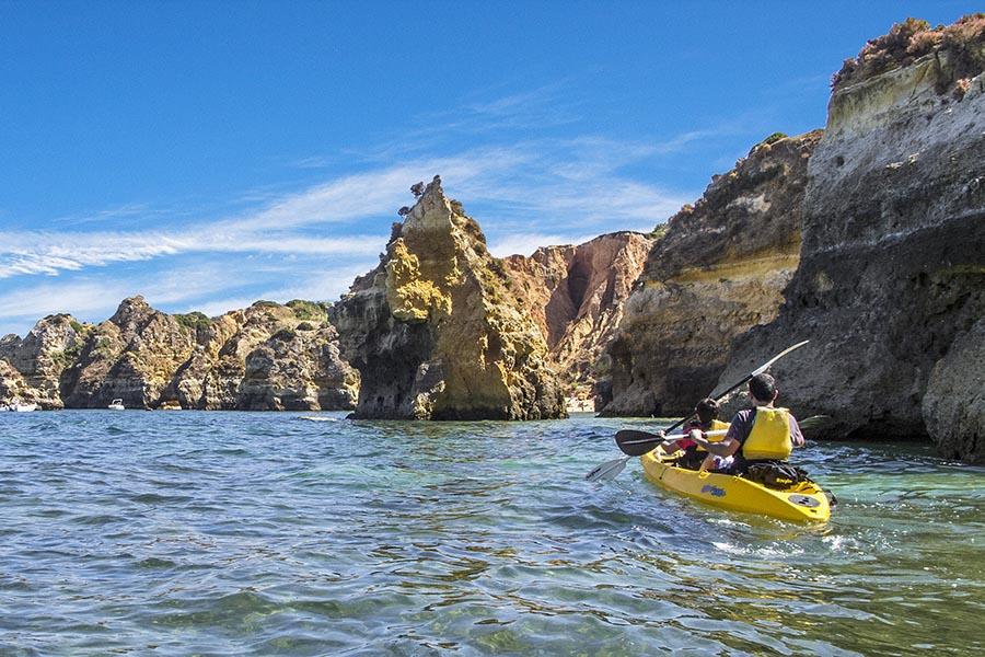 Kayak en Lagos, Algarve