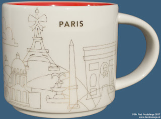 Paris YAH Xmas 2016 mug 'You Are Here' Starbucks