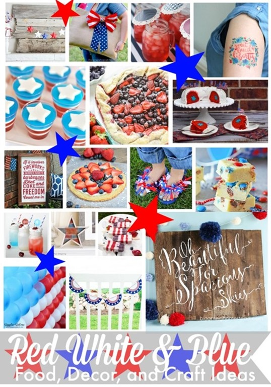 Red White and Blue Food Decor and Craft Ideas_thumb[1]