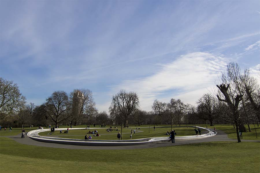 Diana Memorial Fountain, Londres