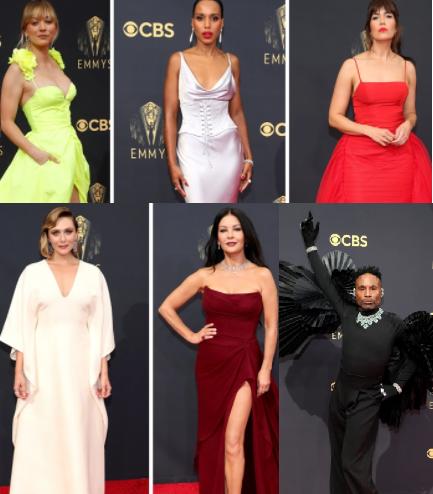 Celebs stun on the Emmys 2021 red carpet (photos)