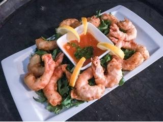 Stratosphere Gastrolounge Toronto: fried shrimp
