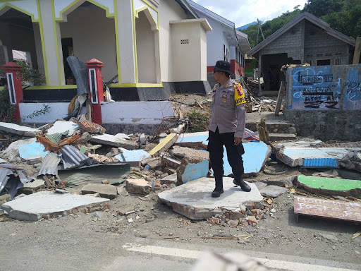 Kapolres Bone : Berhadapan Langsung Korban Bencana Miliki Nilai Tersendiri